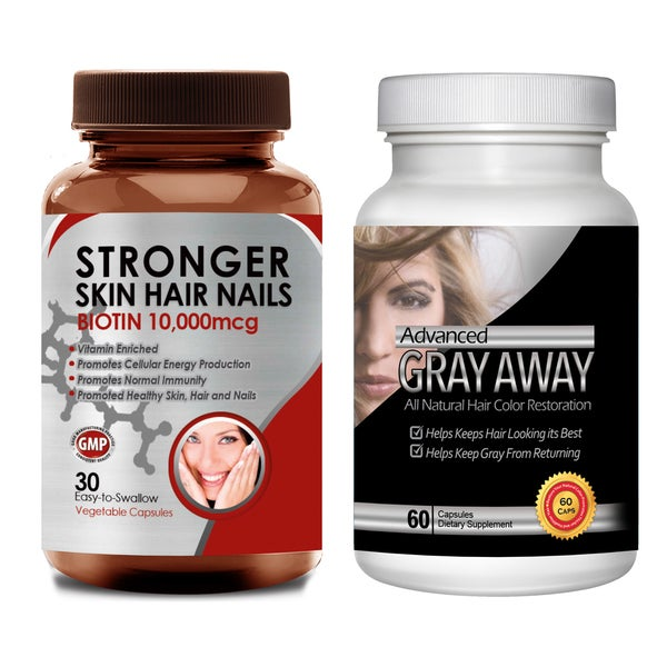 Shop Totally Products Turn Gray Hair Away All-natural Hair Color ...