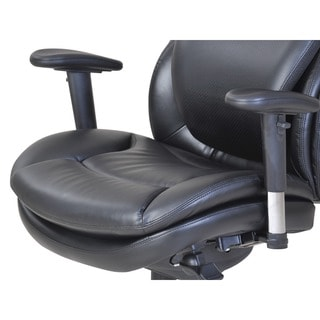 Serta Wellness by Design Air Commercial Series 200 Task Puresoft Faux Leather Chair