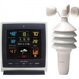AcuRite Pro Color Weather Station, Dark Theme