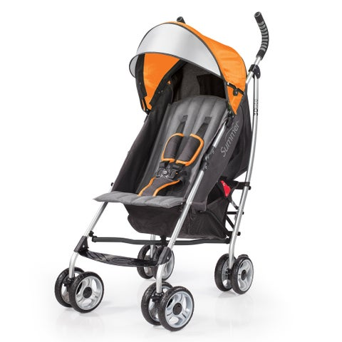 Summer Infant 3D Lite Convenience Stroller in Tangerine