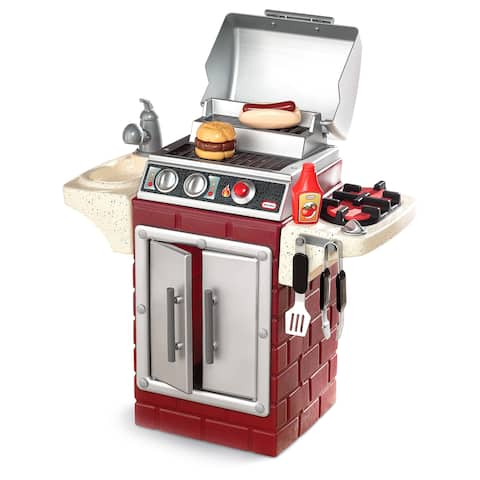 Little Tikes Backyard Barbeque Get Out 'n Grill - Red