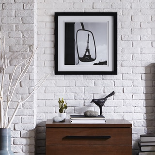 """Ink+Ivy Paul Almasy """"Eiffel Tower Reflection"""" Frame Graphic"""