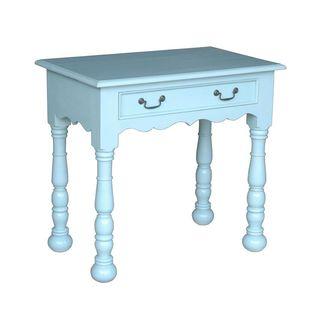 Decorative Gaston Casual Blue Square Console Table