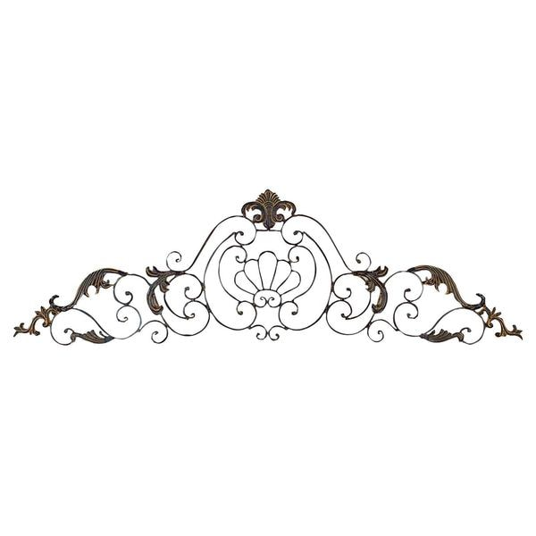 Metal Scroll Wall Decor crown iron scroll wall decor sculpture - free shipping today