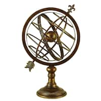 Gracewood Hollow Ahuena Metal Armillary Sphere