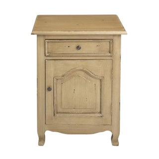 Decorative Imbler Casual Tan Square Accent Table