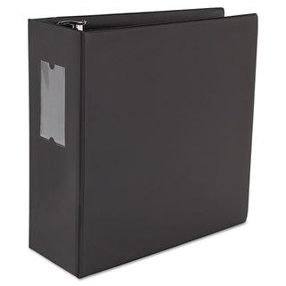 Universal One D-Ring Black Binder