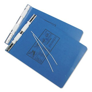 Universal Pressboard Hanging Blue Data Binder (Pack of 4)