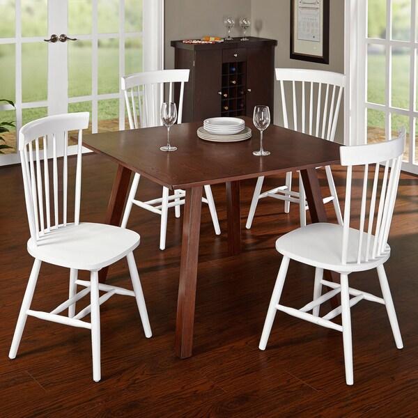Simple Minimalist Dining Set: Shop Simple Living 5-piece Meriden Dining Set