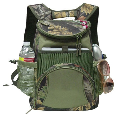 GOOD HOPE BAGS Camo Ipad / Tablet 12-Can Cooler backpack ...