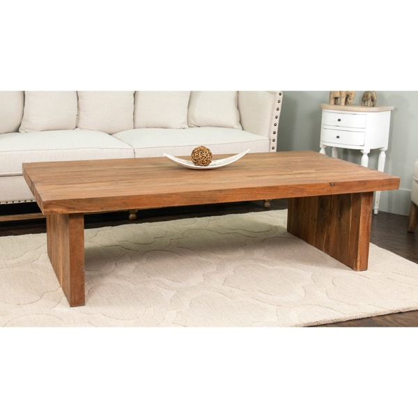 decorative langlois natural brown round quot coffee table quot