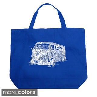 LA Pop Art The 70's Shopping Tote Bag