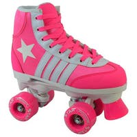 Epic Pink Star Quad Indoor / Outdoor Roller Skates