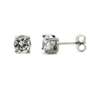 Eternally Haute 3ct Round Cubic Zirconia Stud Earrings