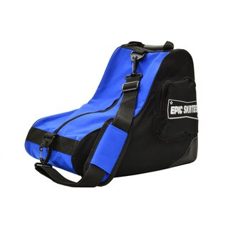 EPIC Blue & Black Premium Quad Roller Derby Speed Skate Bag