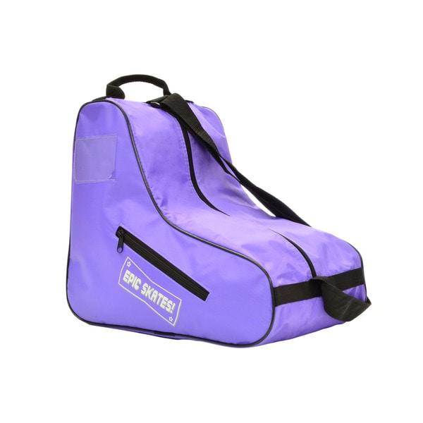 EPIC Purple Quad Roller Derby Speed Skate Bag