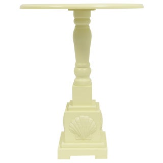 Shell Pedestal Table