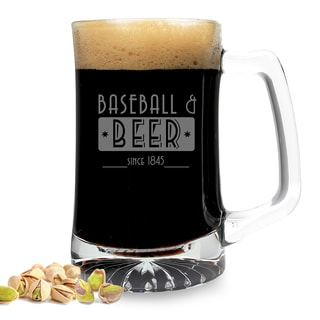 Baseball and Beer Sports Mug