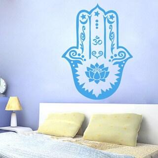 Hamsa Fatima Vinyl Sticker Wall Art
