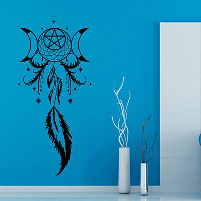 Fantasty Dreamcatcher Sticker Vinyl Wall Art