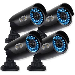 Night Owl Security 4-PK 720p HD Security Bullet Cameras with 100ft. of Night Vision|https://ak1.ostkcdn.com/images/products/10069606/P17213824.jpg?impolicy=medium