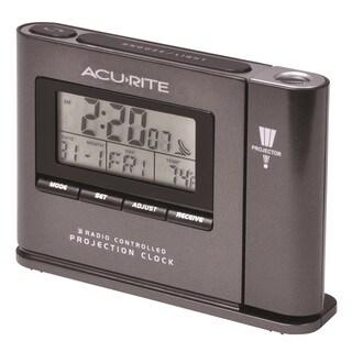 AcuRite Atomic Projection Clock with Indoor Temperature