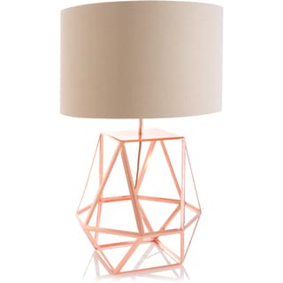 Shiraleah 'Rex' Copper Table Lamp