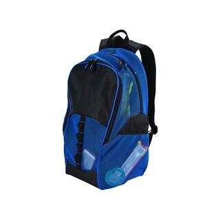 Goodhope Mesh Tablet/15-inch Laptop Backpack (Option: Blue)