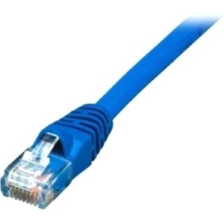 Comprehensive Cat5e Snagless Patch Cable 25ft Blue - USA Made & TAA C