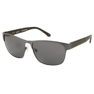 Gant Men's GS2003 Polarized/ Rectangular Sunglasses