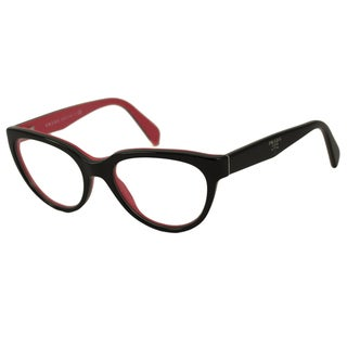 Prada Women's PR10PV Oval Reading Glasses