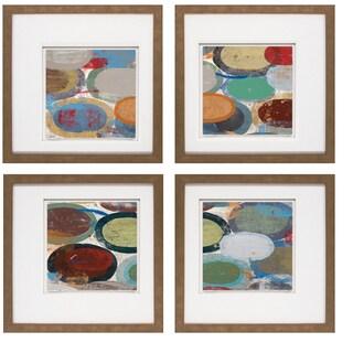 David Bailey-Suspension II 20 x 20 Set of 4 Framed Art Print