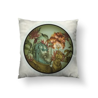 Caliope Square Polyester Throw Pillow