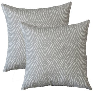 Premiere Home Cameron Storm 17-inch Throw Pillow - Set of 2