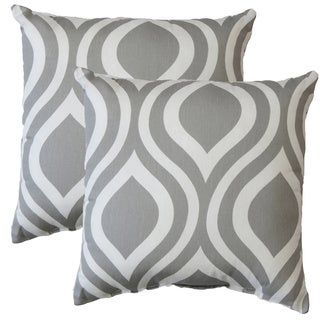 Premiere Home Emily Storm 17-inch Throw Pillow - Set of 2
