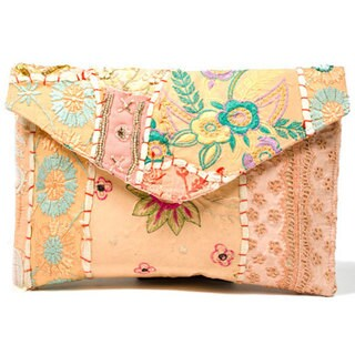 Handmade Color Splash Clutch/ iPad Case (India)