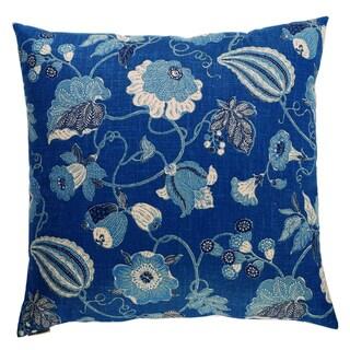 Sulawesi Feather Down Hidden Zipper 24-inch Decorative Throw Pillow