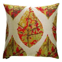 Autumn Decorative Feather and Down Filled 24-inch Throw Pillow