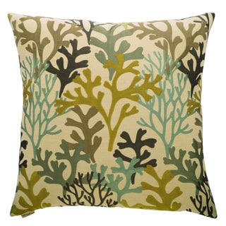Bay Island Decorative Feather and Down Filled 24-inch Throw Pillow