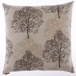 Nile Decorative Feather and Down Filled 24-inch Throw Pillow