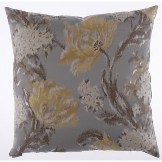 Maya Decorative Feather and Down Filled 24-inch Throw Pillow