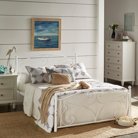 Adrian Twin Metal Platform Bed by iNSPIRE Q Classic