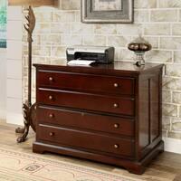 Furniture of America Ericks Cherry 2-Drawer File Cabinet