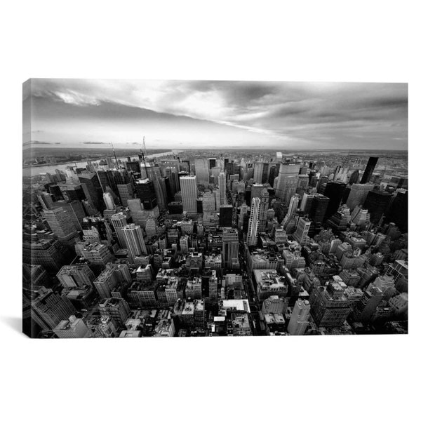 iCanvas Nina Papiorek NYC Uptown Canvas Print Wall Art