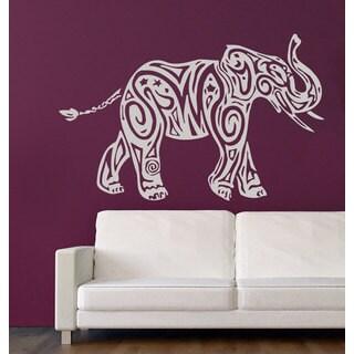 White Elephant Vinyl Wall Art