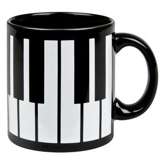 Weachtersbach Piano Key Mugs (Set of 4)
