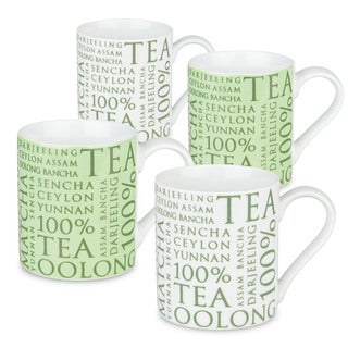 Konitz Assorted Tea Mugs (Set of 4)