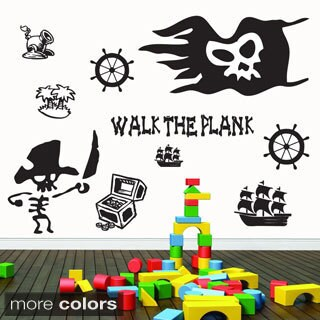 Pirate Wall Decals Set