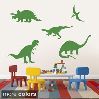 Large Set of Dinosaurs Wall Decals