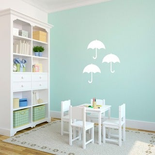 Set of Umbrellas Small Wall Decals
